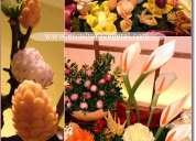 Cursos mukimono o tallado de frutas y verduras