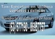Radiotaxis, taxi ejecutivo, transporte de pasajeros, mensajería en valdivia