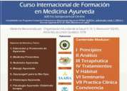 3er curso internacional de formación en medicina ayurveda 600 hrs semipresencial on-line