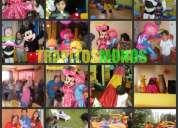 Animacion de fiestas infantiles