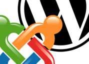 Creación de páginas web administrables para tu empresa, negocio, oficio, etc.