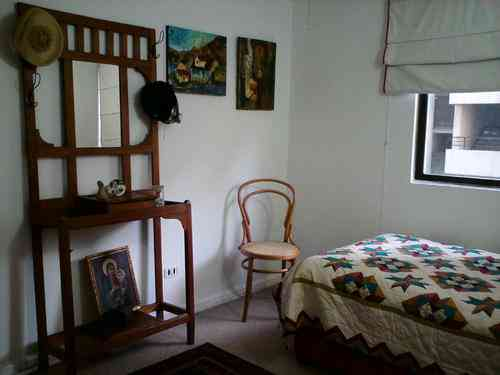 Pieza amoblada para mujer - beautiful room for women