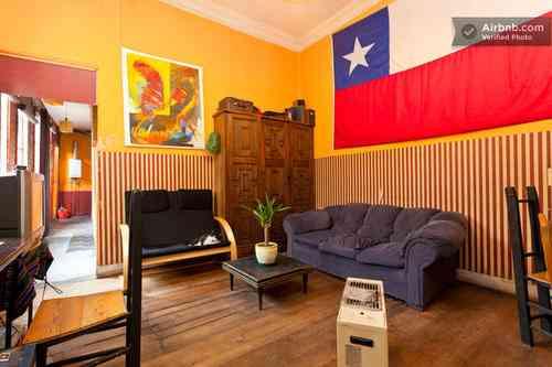 Arriendo de habitaciones barrio bellavista providencia for Habitaciones para arriendo