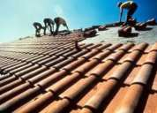 Mantencion, reparacion, arreglo de techos, techumbres