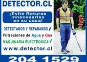 Gasfiter, detecciones todas las comunas