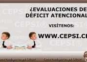 Cepsi ®. evaluaciones dÉficit atencional