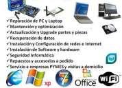 Reparacion de computadores y notebook