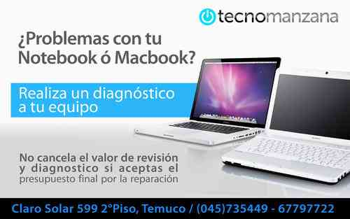Servicio Técnico de Notebook y Apple