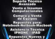 Servicio tecnico macbook , mac notebook , netbook