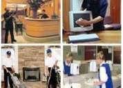 Limpieza de alfombras, tapices y aseo integral. fono:(09)61213127