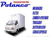 mudanzas fletes transportes carga express