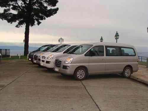 Transporte de pasajeros y turismo regional