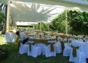 Presupuestos para matrimonios al aire libre en parcela