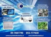 Instalacion cctv (camaras de seguridad) y puntos de red antof.