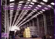 Construccion de galpones bodegas gimnasios estructuras