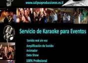 Karaoke para fiestas animación de eventos