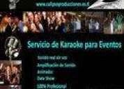 Servicio de karaoke para fiestas