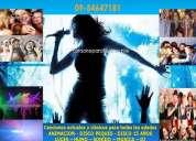 Karaoke para eventos las condes