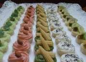Finos y ricos canapes, empanditas, sushi, lindas tortas caseras