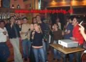 Arriendo de karaoke para eventos