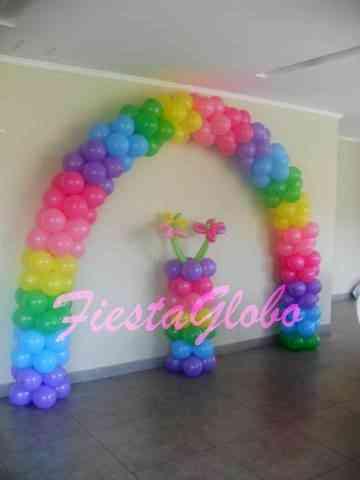 decoracin con globos para cumpleaos aos bautizos macul doplim
