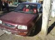 Vendo auto nissan v16 tapa roja año 1994