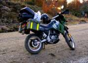 Suzuki dr 250 amarilla/negro