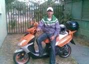 Vendo moto scooter aÑo 2008 150cc.