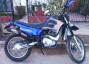 Moto enduro jianshe año 2009