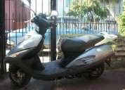 Moto scooter honda elite 125 azul aÑo 2008 economica