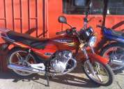 Euromot hj 125 7 nueva, 0 km, roja, papeles al dia