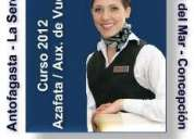Antofagasta formate como auxiliar de vuelo en un aÑo
