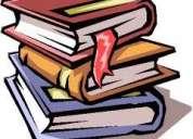 Clases particulares de apoyo y refuerzo escolar