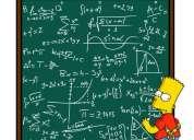 clases de matemáticas, física, química y biología, Énfasis psu