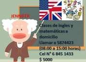 clases de ingles y matemÁticas para todo nivel maipu