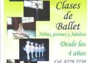 Danza clásica para jóvenes principiantes  desde 11 años