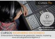 Escuela de ingenieria en sonido y grabaciÓn musical