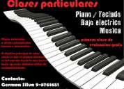 Clases de piano/teclado