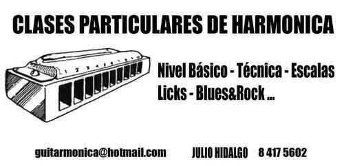clases de armonica blues o harmonica blusera