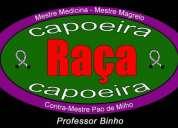 Clase de capoeira  grupo raça chile -  professor binho