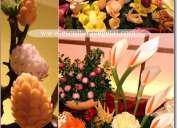 Cursos de tallado en frutas y verduras o mukimono