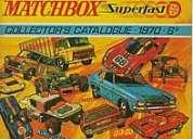 Matchbox catalogos, originales...1970, 75.76,77,78 1979/80