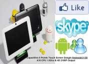 Tablet 7 capacitiva android 4.0 hdmi camara frontal