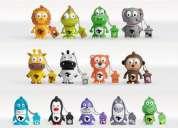 Pendrives la tribu.pendrives de diferentes figuritas de animales!