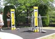 MÁquinas de ejercicio al aire libre