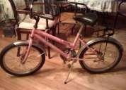 Vendo bicicleta alpino como nueva aro 20 rosada en $30.000