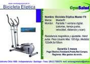 Oferta !! bicicleta eliptica master fit