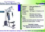 Maquina de ejercicios home gym máster fit