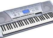 Se vende organo yamaha 450 y set de microfonos para bateria jts