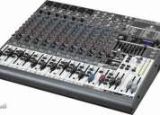 Behringer xenyx1832fx mixer 18ch c/efecto